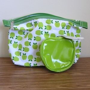 Clinique Green Apple Cosmetic Bags New